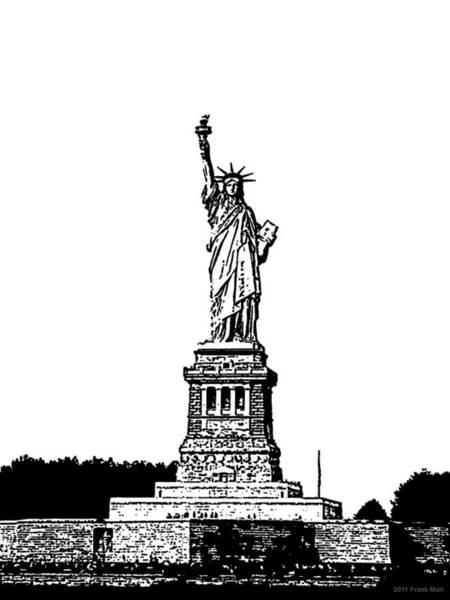 Photograph - Statue Of Liberty 1.1 by Frank Mari