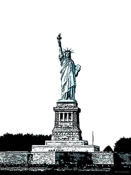 Photograph - Statue Of Liberty 1.2 by Frank Mari