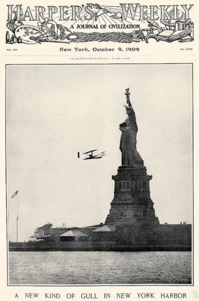 Photograph - Statue Of Liberty, 1909 by Granger