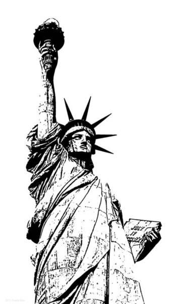 Photograph - Statue Of Liberty 2.1 by Frank Mari