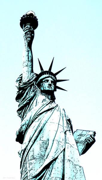 Photograph - Statue Of Liberty 2.2 by Frank Mari