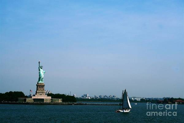 Photograph - Statue Of Liberty by The Art of Alice Terrill