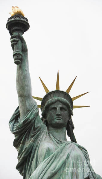 Wall Art - Photograph -  Statue Of Liberty by American School