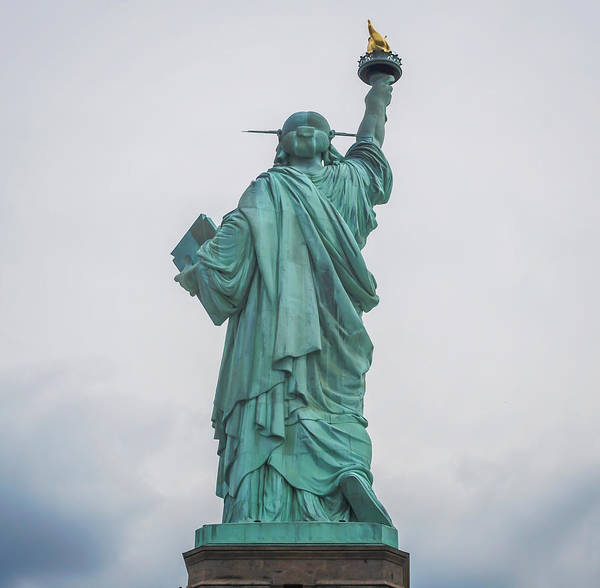 Photograph - Statue Of Liberty Back by Terry DeLuco