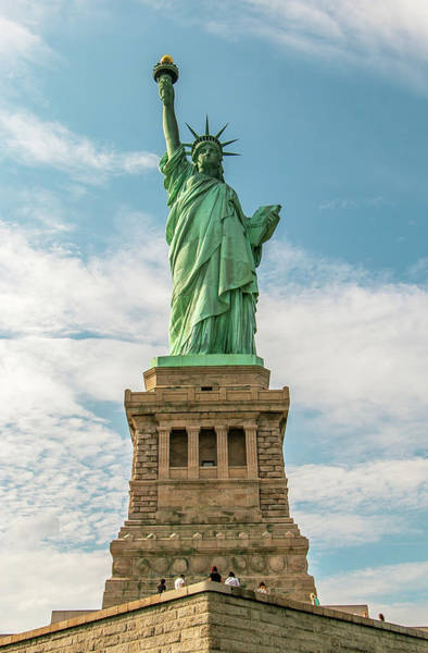 Photograph - Statue Of Liberty by Chris Berrier