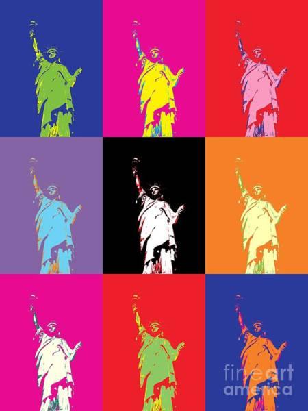 Wall Art - Photograph - Statue Of Liberty by Donald Stevenson