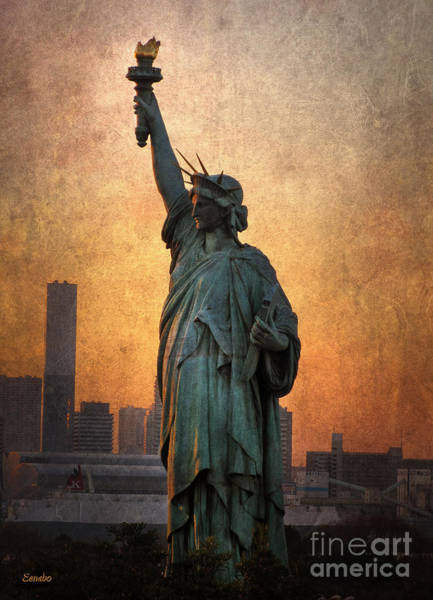 Photograph - Statue Of Liberty by Eena Bo