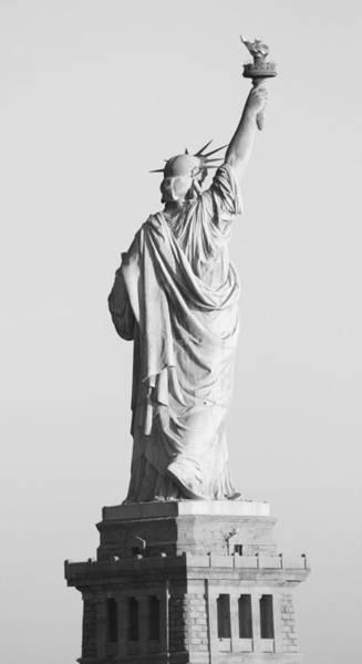 Laguna Beach Painting - Statue Of Liberty by Habib Ayat