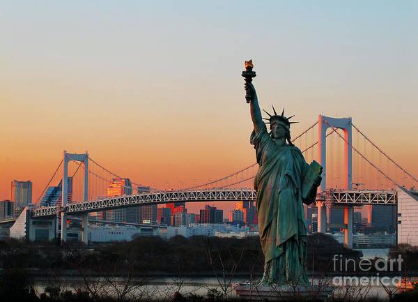 Photograph - Statue Of Liberty by Eena Bo