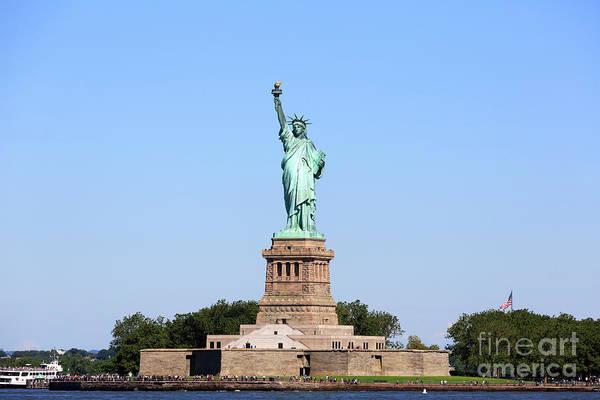 Wall Art - Photograph - Statue Of Liberty by Louise Heusinkveld