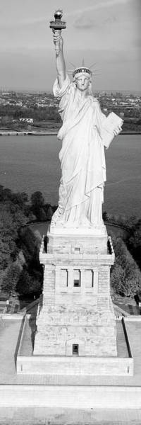 Immigrant Photograph - Statue Of Liberty, New York, Nyc, New York City, New York State, Usa by Panoramic Images