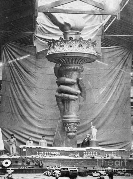 Photograph - Statue Of Liberty, Paris by Granger