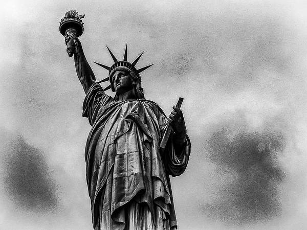 Photograph - Statue Of Liberty Photograph by Louis Dallara