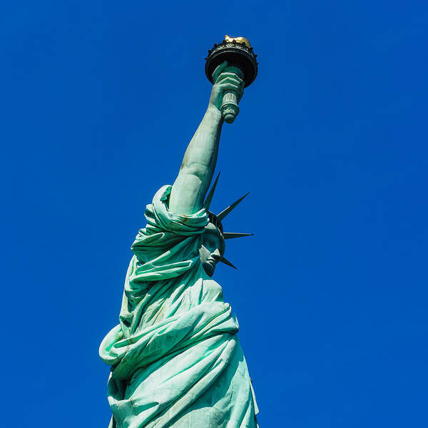 Photograph - Statue Of Liberty by Robin Zygelman