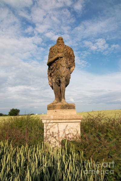 Wall Art - Photograph - Statue Of Saint Onufrius by Michal Boubin