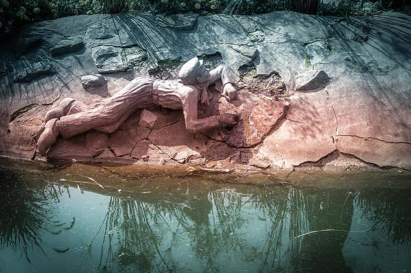 Holland Mi Wall Art - Photograph - Statue On The Rock by Art Spectrum