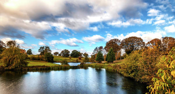 Photograph - Staunton Harold Lake by Nick Bywater