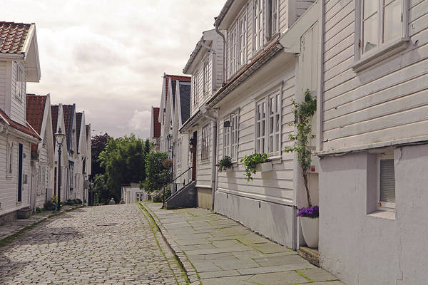 Photograph - Stavanger Old Town by Tony Murtagh