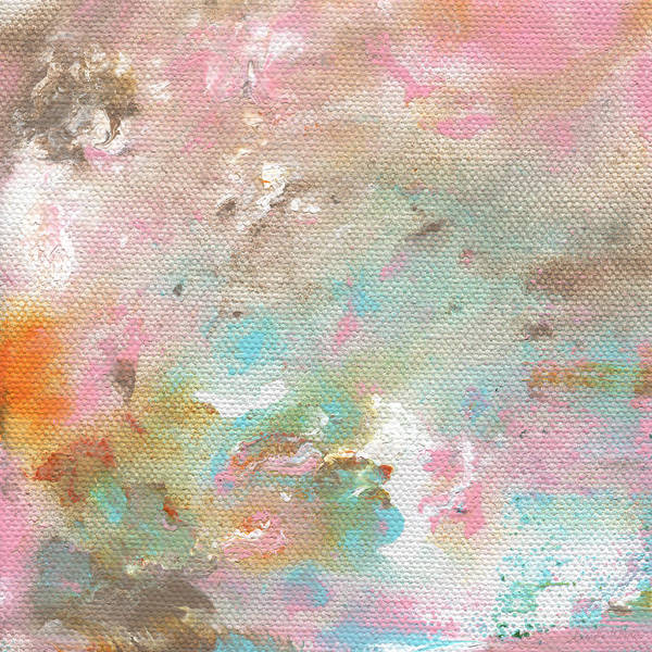 Pretty Mixed Media - Stay- Abstract Art By Linda Woods by Linda Woods