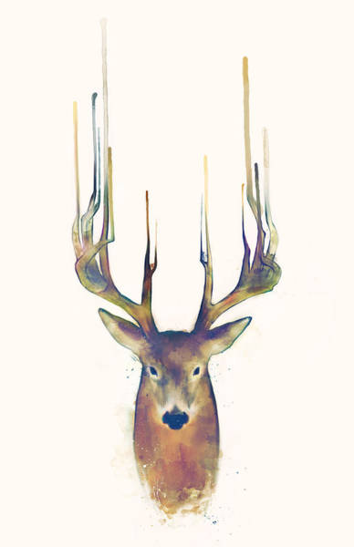 Fauna Wall Art - Painting - Steadfast by Amy Hamilton