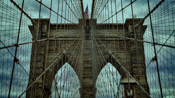 Wall Art - Photograph - Steadfast - Brooklyn Bridge by Stephen Stookey