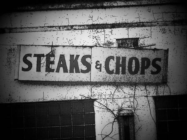 Wall Art - Photograph - Steaks And Chops by Michael L Kimble