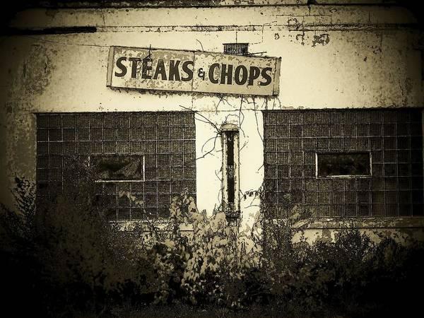 Wall Art - Photograph - Steaks by Michael L Kimble