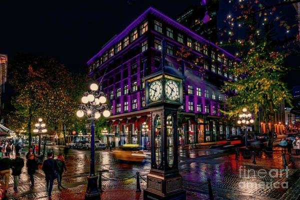 Canada Wall Art - Photograph - Steam Clock In Gastown  by Viktor Birkus