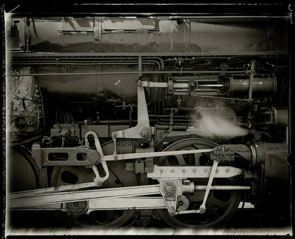 Photograph - Steam Engine Closeup by Bud Simpson