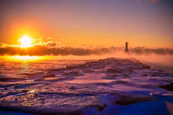 Photograph - Steam Fog Five by James Meyer
