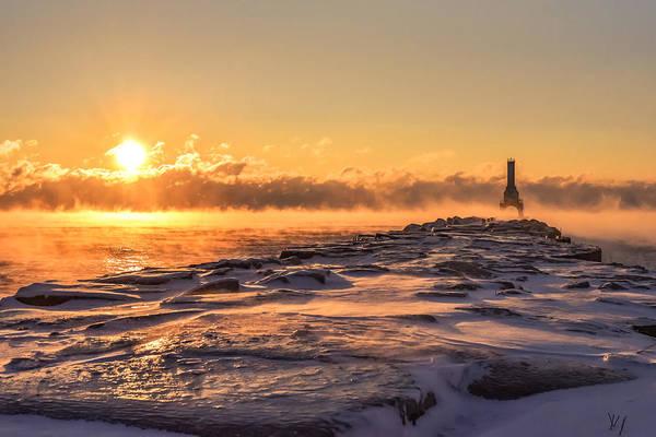 Photograph - Steam Fog Four by James Meyer
