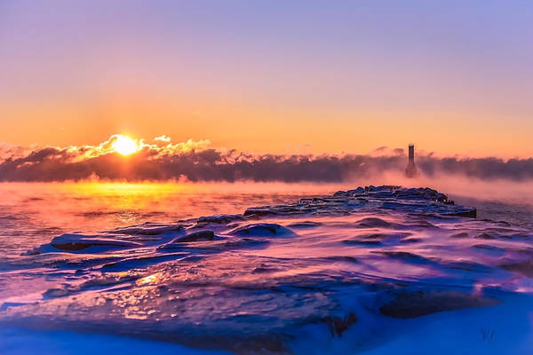 Photograph - Steam Fog One by James Meyer