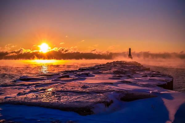 Photograph - Steam Fog Three by James Meyer