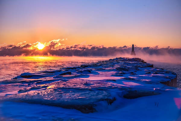Photograph - Steam Fog Two by James Meyer