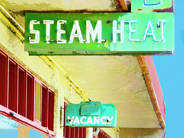 Wall Art - Photograph - Steam Heat by Dominic Piperata