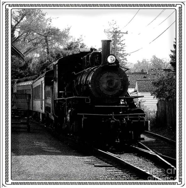 Photograph - Steam Locomotive At Arcade And Attica Railroad by Rose Santuci-Sofranko