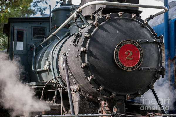 Photograph - Steam Locomotive by Dale Powell