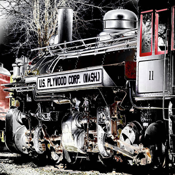 Photograph - Steam Locomotive by David Patterson