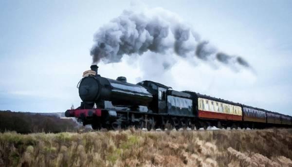 Photograph - Steam Locomotive To Virginia City  by David Dehner