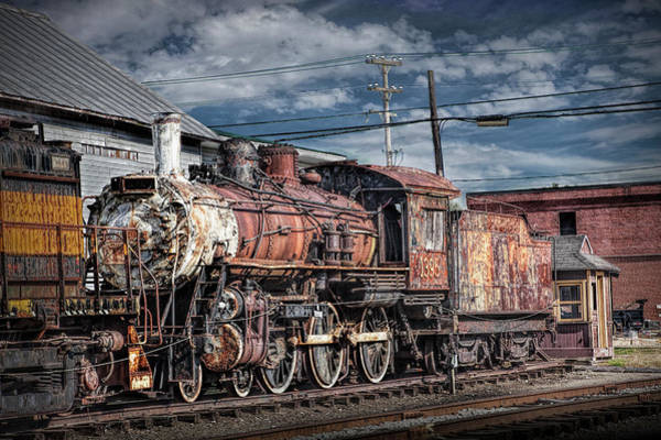 Photograph - Steam Locomotive Train Engine by Randall Nyhof