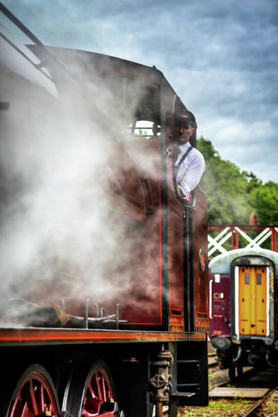 Photograph - Steam by Nick Bywater