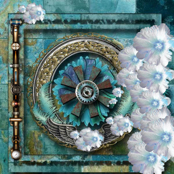 Digital Art - Steam Punk Art by Digital Art Cafe