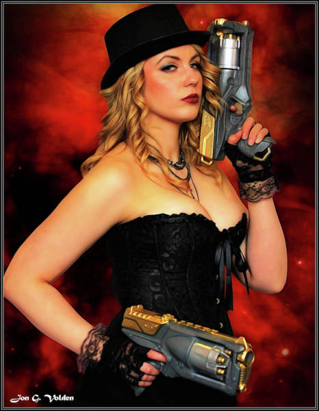 Photograph - Steam Punk Gun Figther by Jon Volden