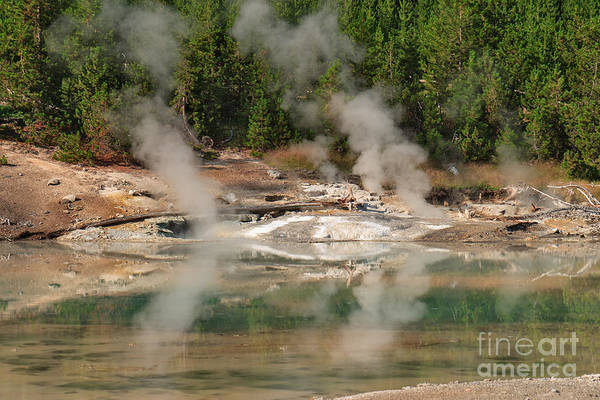Photograph - Steam Reflections by Charles Kozierok