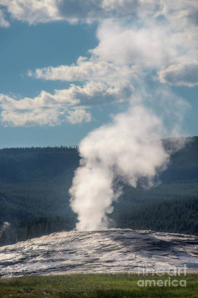 Photograph - Steam Released As Pressure Builds by Mae Wertz