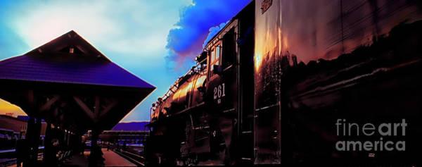 Photograph - Steam Town 261 Scranton Tobyhanna Pa Station by Tom Jelen