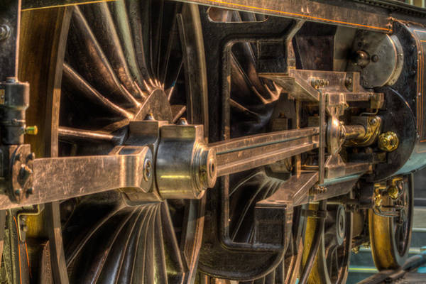 Photograph - Steam Train Close Up by Clare Bambers