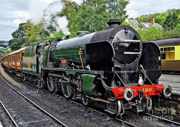 Photograph - Steam Train On North York Moors Railway by Martyn Arnold
