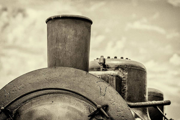 Photograph - Steam Train Series No 2 by Clare Bambers
