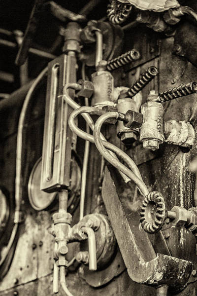 Photograph - Steam Train Series No 36 by Clare Bambers